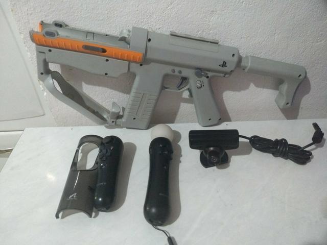 Kit mouve Com metralhadora PS3