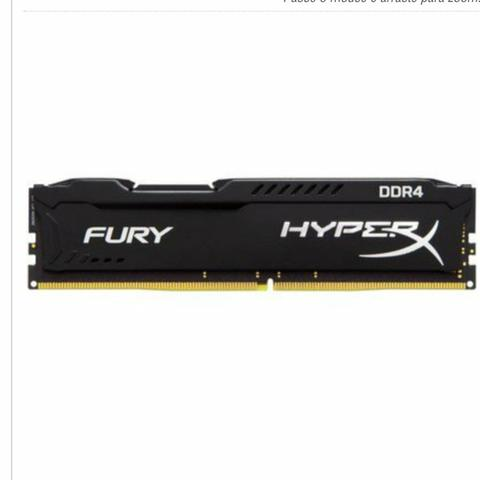 Memória ddr4 2400mhz HyperX 8Gb