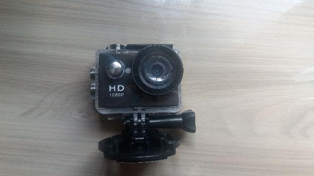 Câmera de ação à prova d'água