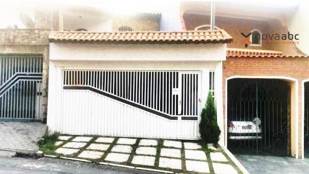Sobrado com 3 dormitórios à venda, 220 m² por R$ 590.000 - Parque Marajoara - Santo André/