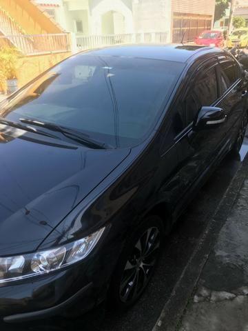Civic LXR 2.0 2016 GNV Preto Automático