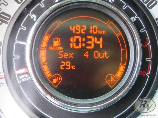 FIAT 500 2011/2012 1.4 CULT 8V FLEX 2P MANUAL - Foto 5