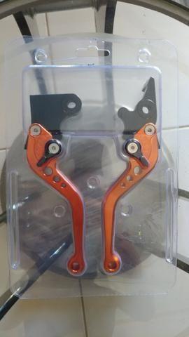 Vendo manetes esportivos para CB Twister - Foto 3