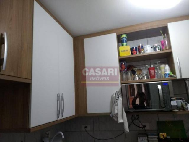 Apartamento com 2 dormitórios à venda, 55 m² por r$ 235.000 - conjunto residencial pombeva - Foto 6