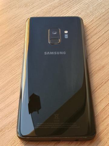 Samsung Galaxy s9 Preto 128 Gb-Impecável - Foto 4