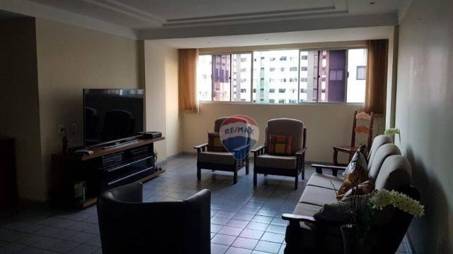Apartamento com 3 dormitórios à venda, 106 m² por R$ 230.000,00 - Barro Vermelho - Natal/R - Foto 5