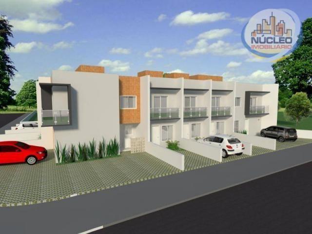 Sobrado com 2 dormitórios à venda, 68 m² por R$ 194.000,00 - Espinheiros - Joinville/SC - Foto 6