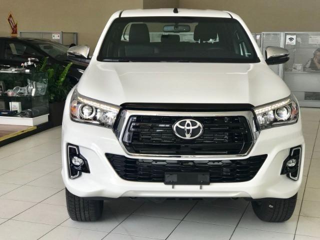 Toyota Hilux SR CD 2.8 Diesel 4x4 Aut 19/20 0km IPVA 2020 pago - Foto 2