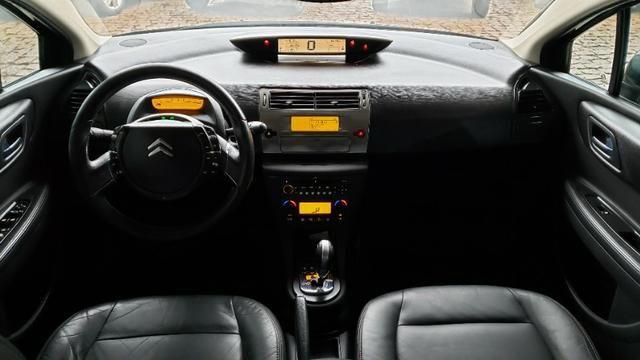 Lindo C4 Exclusive 2.0 flex Completo Automático com 4 pneus novos e revisado - Foto 7