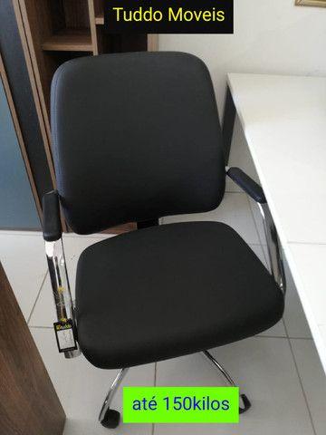 Cadeiras Escritório Tuddo Moveis - Foto 5