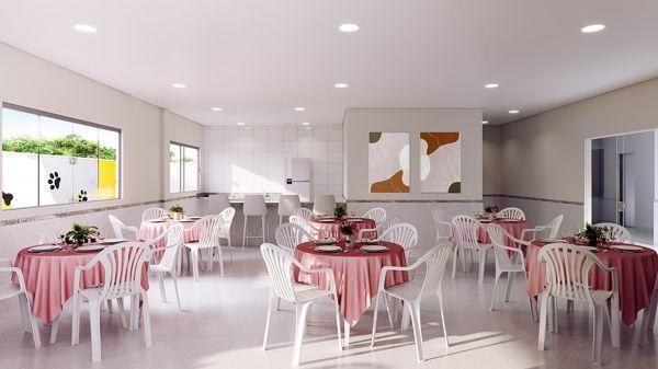 Apartamento com 2 quartos no Raízes Parque Cascavel - Bairro Vila Rosa em Goiânia - Foto 9