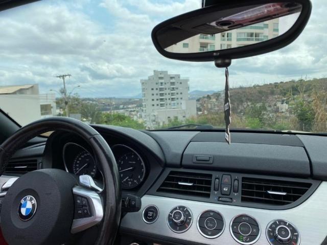 bmw Z4 conversivel 6cc interior vermelho - Foto 4