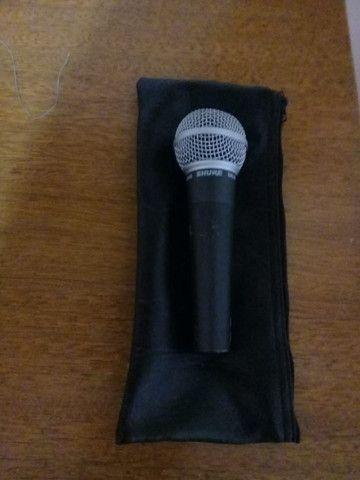 Microfone Shure SM 58 Original na Caixa - Foto 4