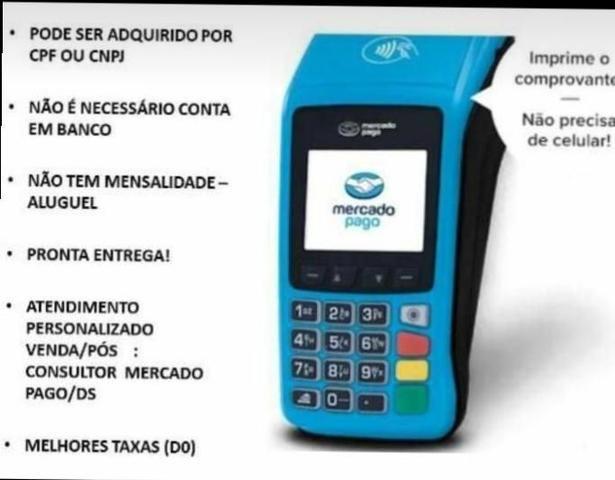 Máquina de cartao de crédito - Foto 2