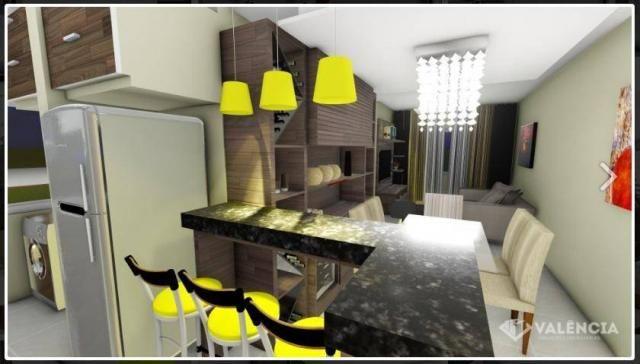 Apartamento com 1 dormitórios à venda, 39 m² por R$ 175.000,00 - São Cristóvão - Cascavel/ - Foto 4