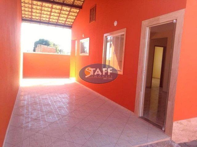 KA- Casa na Planta e com 2 quartos e suíte, em Condomínio, por R$ 100.000 - Unamar - Foto 9