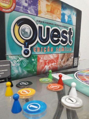 Jogo Quest Edição Família  - Foto 2
