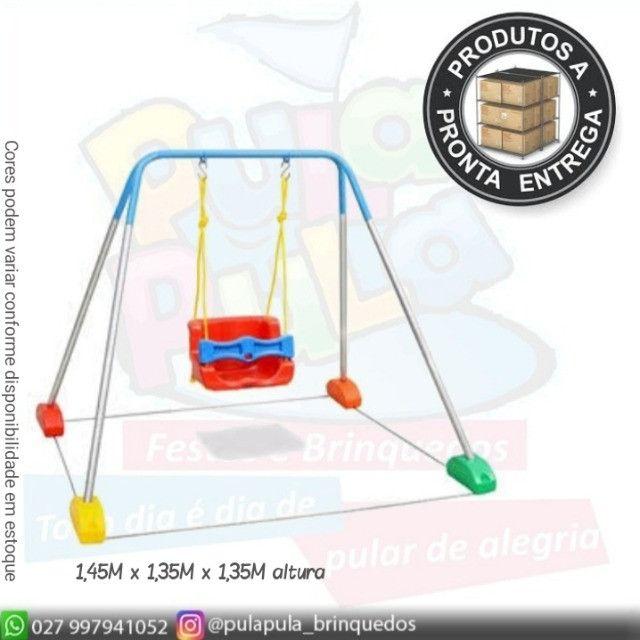 Venda - Piscina de bolinhas Quadrada + Ecorregadores - A pronta entrega - Foto 6