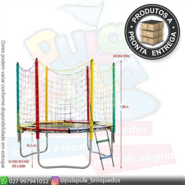 Venda - Pula Pulas + Piscina de bolinhas Quadrada - A pronta entrega - Foto 4