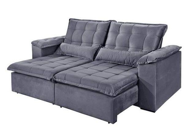Sofa retratil e reclinavel tres marias 2,50m SUP728