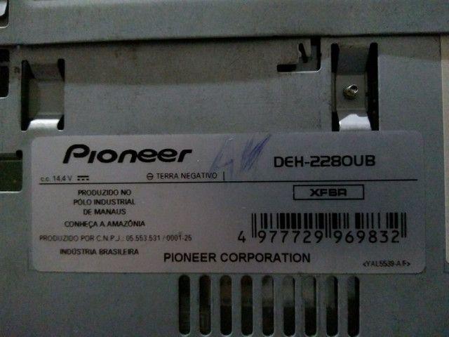 Pioneer funcionando tudo
