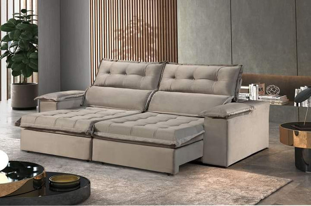 Sofa retratil e reclinavel Sao Gonçalo SUP819