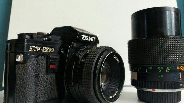 Câmera Zenit filme