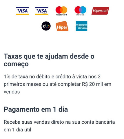 Maquininha 1% Taxa - Foto 6