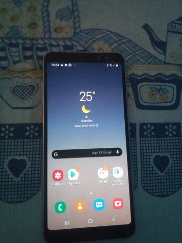 Samsung A8 64 gb vendo ou troco