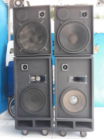 Caixa de som semi profissional - Foto 2