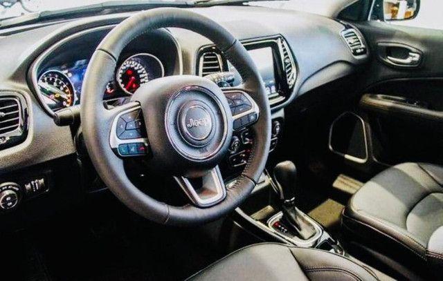 Jeep Compass Limited Flex 2021 Okm A Pronta Entrega Melhor Preço da Baixada !!! - Foto 4