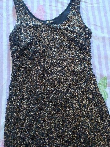 Vestido de lantejoulas  - Foto 2