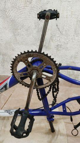 Quadro completo bike ARO 24 - Foto 5