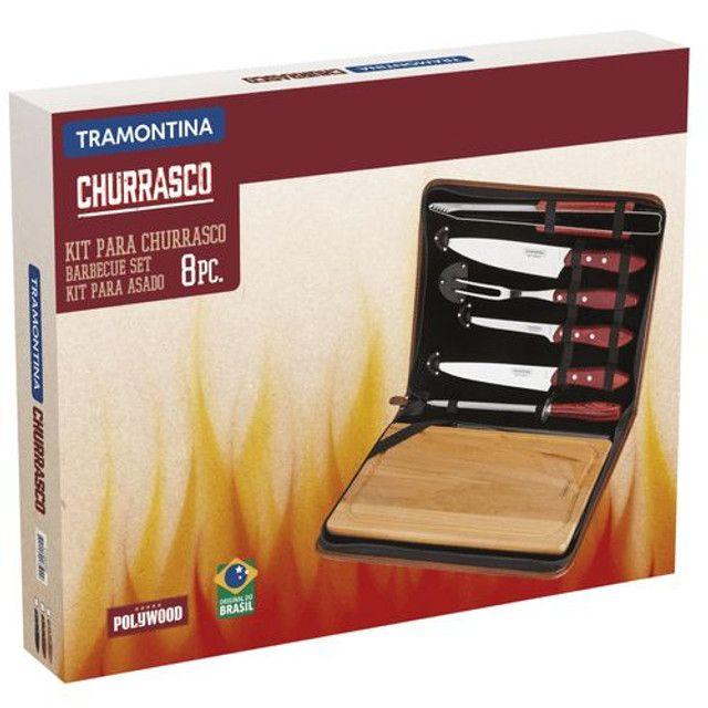 Kit para Churrasco Tramontina/ 8 Peças