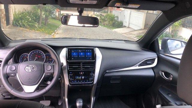 Toyota Yaris XL 2020 Aut. - 3 mil km - Somente isso ((((( 3 MIL )))))  - Foto 8