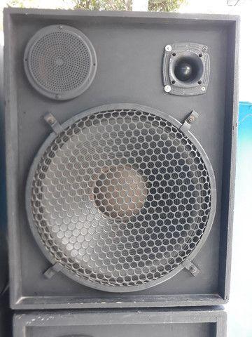 Caixa de som semi profissional - Foto 3