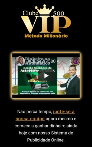 Clube 500 vip método milionário  - Foto 4