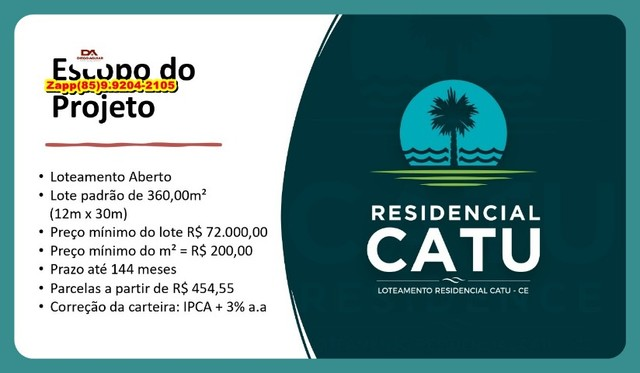 Loteamento Residencial Catu - Marque sua visita-#@#@ - Foto 7