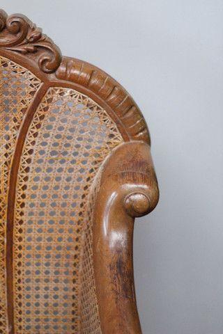 Poltronas de madeira de lei, poltrona antiga de ótima qualidade! - Foto 5