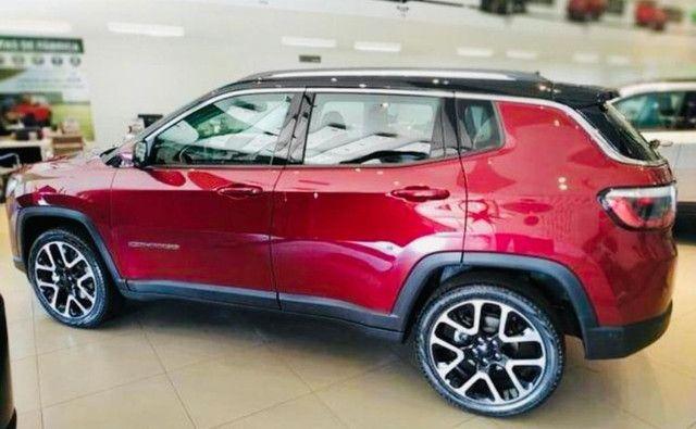 Jeep Compass Limited Flex 2021 Okm A Pronta Entrega Melhor Preço da Baixada !!! - Foto 11