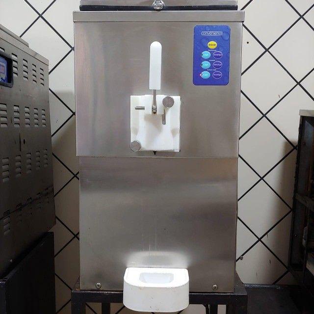 Máquina de sorvete, milk shake, iogurt ou açaí soft - tecsoft - Foto 2
