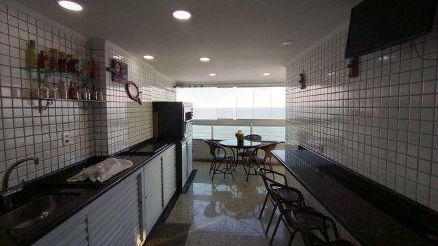 Apartamento alto padrão 3 dormitórios suítes frente mar Campo da Aviação Praia Grande - Foto 4