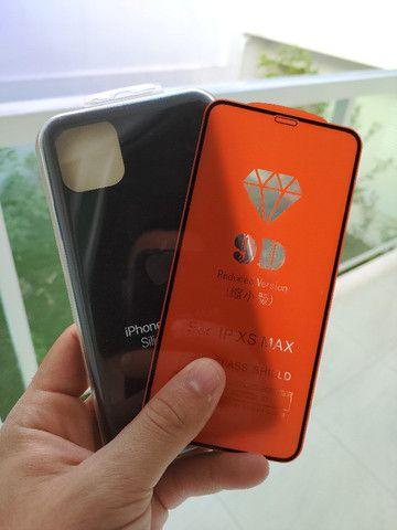 Capinhas + película Iphone 11 e 11 pro max Originais