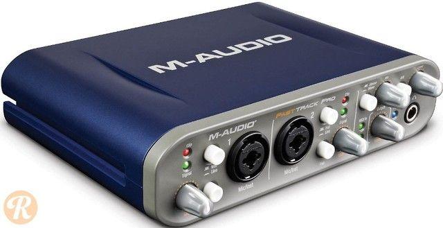 M-audio Fast Track Pro (com Caixa Original E Protools) - Foto 3