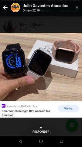 Relógio smartwatch t80