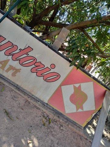 Placa p bar e restaurante