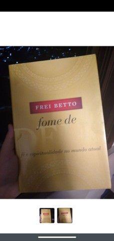 Livro Fome de Deus-Frei Betto novo, sem detalhes - Foto 2