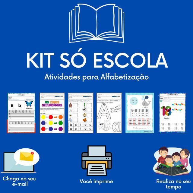 .:: Kit de Atividades Alfabetização Infantil :: - Foto 4