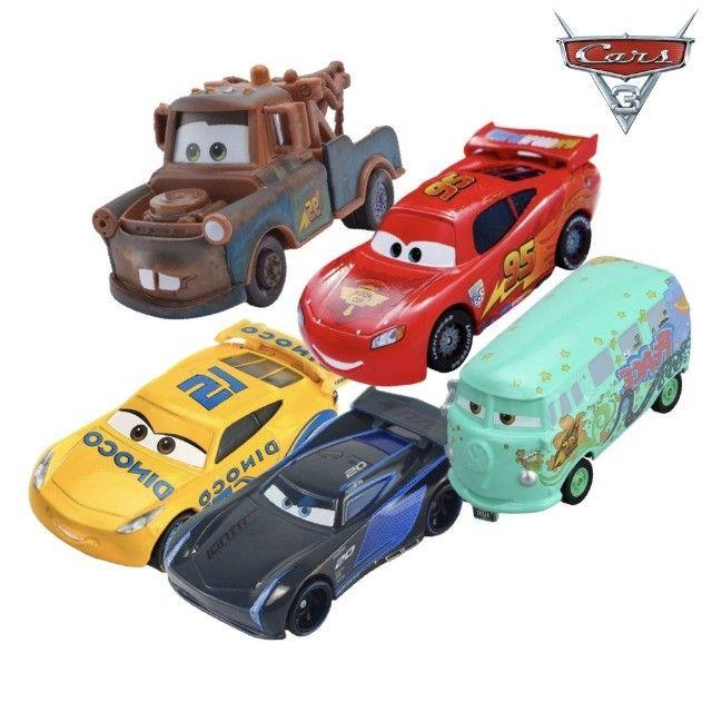 KIT com 5 Carros - Disney 1:55 - Foto 2