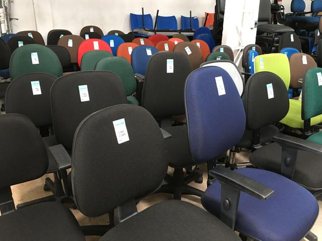 Cadeiras Usadas e Seminovas p/ Escritórios
